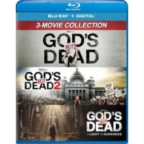 GODS NOT DEAD-3 MOVIE COLLECTION (BLU-RAY DIGITAL ON GODS NOT DEAD 3 ONLY)