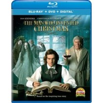 MAN WHO INVENTED CHRISTMAS (BLU RAY DVD W DIGITAL)