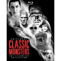 UNIVERSAL CLASSIC MONSTERS-ESSENTIAL COLLECTION (BLU RAY) (8DISCS)