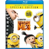 DESPICABLE ME 3 (BLU RAY/DVD W/DIGITAL HD)