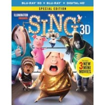 SING (3D BLU RAY BLU RAY W DIGITAL HD) (3D)