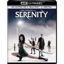 SERENITY (BLU-RAY 4KUHD ULTRAVIOLET DIGITAL HD)