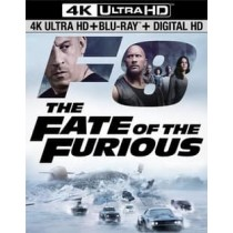 FATE OF THE FURIOUS (BLU-RAY 4KUHD MASTERED ULTRAVIOLET DIGITAL HD)