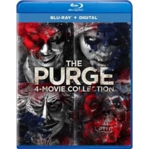 PURGE-4-MOVIE COLLECTION (BLU RAY W DIGITAL HD) (4DISCS)