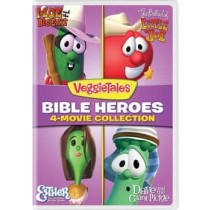 VEGGIE TALES-4 MOVIE COLLECTION (DVD)(MOE BALLAD ESTHER DAVE)