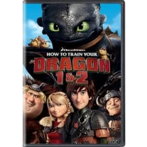 HOW TO TRAIN YOUR DRAGON 1 & 2 (DVD)
