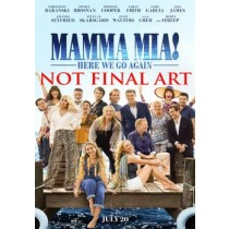 MAMMA MIA-HERE WE GO AGAIN (DVD)