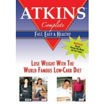 ATKINS COMPLETE-FAST EASY & HEALTHY (DVD)-NLA!