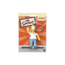HOMER SIMPSON BENDABLE KEYCHAIN 3.5 INCH NLA