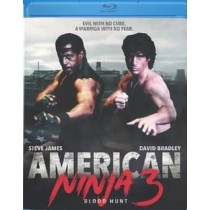 AMERICAN NINJA 3-BLOOD HUNT (BLU-RAY 1987 WS 1.85)