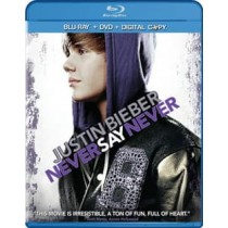 JUSTIN BIEBER-NEVER SAY NEVER (COMBO BR DVD DC 2 DISCS)       NLA