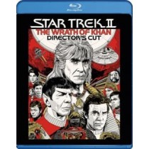 STAR TREK 2-WRATH OF KHAN (BLU RAY DIRECTORS EDITION)
