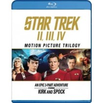 STAR TREK-MOTION PICTURE TRILOGY (BLU RAY) (2016 REPACKAGE)
