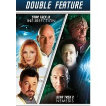 STAR TREK 9-INSURRECTION STAR TREK 10-NEMESIS (DVD DOUBLE FEATURE 2DISCS)