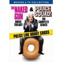 POLICE SQUAD TV MOVIE COLLECTION(NAKED GUN TRILOGY POLICE QUARD-COMPLETE)DV