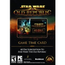 STAR WARS THE OLD REPUBLIC PRE PAID TIME CARD