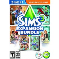 SIMS 3 EXPANSION PACK BUNDLE