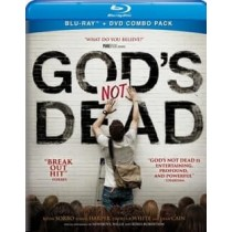 GODS NOT DEAD (BLU-RAY DVD COMBO PACK 2014 SORBO CAIN W ROBERTSON)