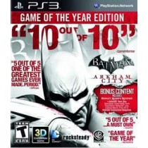 BATMAN:ARKHAM CITY GAME OF THE YEAR NLA