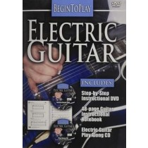 BEGIN TO PLAY ELECTRIC GUITAR (DVD)-NLA