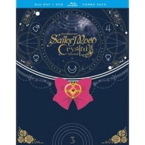 SAILOR MOON-CRYSTAL-SET 3 (BLU-RAY/DVD/4 DISC/COMBO)