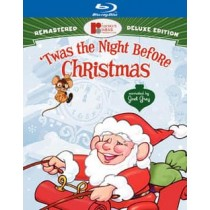 TWAS THE NIGHT BEFORE CHRISTMAS (BLU-RAY DELUXE EDITION 2 DISC)