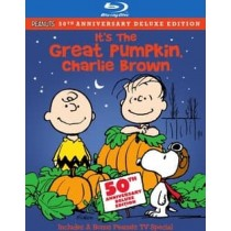 PEANUTS-ITS THE GREAT PUMPKIN CHARLIE BROWN (BLU-RAY DVD 2 DISC COMBO)