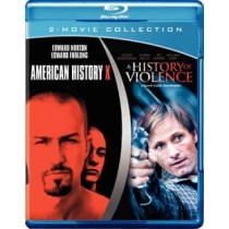 AMERICAN HISTORY X HISTORY OF VIOLENCE (BLU-RAY DBFE)