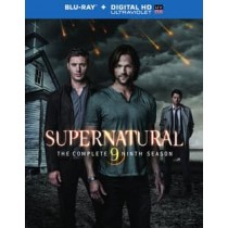 SUPERNATURAL-COMPLETE 9TH SEASON (BLU-RAY ULTRAVIOLET 4 DISC)