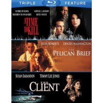 TIME TO KILL PELICAN BRIEF CLIENT (BLU-RAY 3FE)
