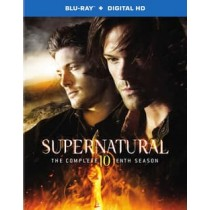 SUPERNATURAL-COMPLETE 10TH SEASON (BLU-RAY 4 DISC)