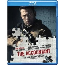 ACCOUNTANT (2016 BLU-RAY DVD DIGITAL HD UV COMBO)