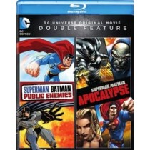 SUPERMAN BATMAN-PUBLIC ENEMIES SUPERMAN BATMAN-APOCALYPSE (BLU-RAY DBFE)