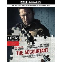 ACCOUNTANT (2016 BLU-RAY 4K-UHD 2 DISC)