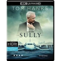 SULLY (BLU-RAY 2016 4K-MASTERED UHD 2 DISC) NEW DESC 2 9 18 BY WARNER