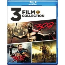 3 FILM COLLECTION-300 300 ROE TROY (BLU-RAY 3 DISC)