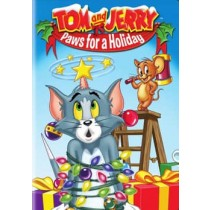 TOM & JERRY PAWS FOR A HOLIDAY (DVD 4.3)