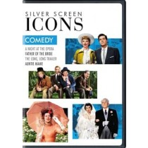 SILVER SCREEN ICONS-COMEDY (DVD/4FE)