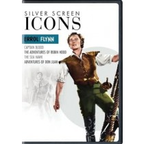 SILVER SCREEN ICONS-ERROL FLYNN (DVD/4FE)