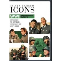 SILVER SCREEN ICONS-WORLD WAR II-BATTLEFRONT EUROPE (DVD/4FE)