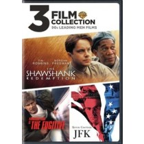3 FILM COLLECTION-90S LEADING MEN (DVD/SHAWSHANK R/FUGITIVE/JFK)
