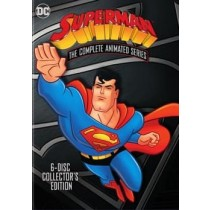 SUPERMAN-ANIMATED SERIES COMPLETE (DVD 8 DISC 54 EP FF-4X3 REPACKAGED)