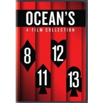 OCEANS 8 11 12 13 4-FILM COLLECTION (DVD 4 DISC)