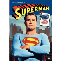 ADVENTURES OF SUPERMAN-2ND SEASON (DVD 5 DISC P&S-1.33 ENG-FR-SP SUB)