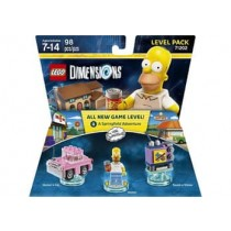 LEGO DIMENSIONS LEVEL PACK SIMPSONS NLA