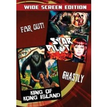 STAR PILOT KING OF KONG ISLAND DOUBLE FEATURE DVD