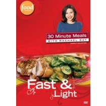RACHAEL RAY-FAST & LIGHT (DVD)-NLA      !