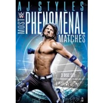 WWE-AJ STYLES-MOST PHENOMENAL MATCHES (DVD 3 DISC WS 1.78 5.1 DDS)